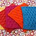 Honeycomb Check Dishcloth pattern