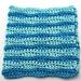 Wavy Stripes Dishcloth pattern
