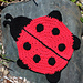Ladybug Dishcloth pattern