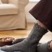 Ruffle Edged Sock pattern