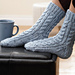 Cabled Sock pattern