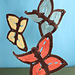 Summer Butterfly Dishcloth pattern