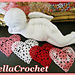 Sweetie Hearts Applique or Ornament pattern