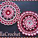 Peppermint Pinwheel Doily pattern