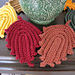Autumn Leaves Dish/Wash Cloth or Hot Pad pattern
