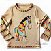 Rainbowed zebra pattern