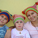 Sister-Love Striped Hats pattern