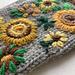Sunflower mittens pattern