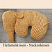 Elefanten Kissen pattern