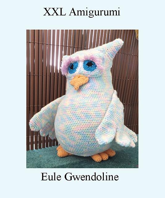 Eule / Buch / Schule | Häkeln amigurumi eule, Eule häkeln ... | 640x534