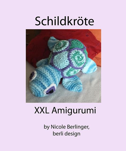 Ravelry: Fisch XXL Fish Amigurumi crochet pattern by berli design | 640x535