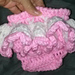 Diaper Cover with Skirt pattern