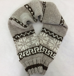 Cowichan-Inspired Scarf