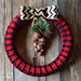 Plaid Wreath pattern