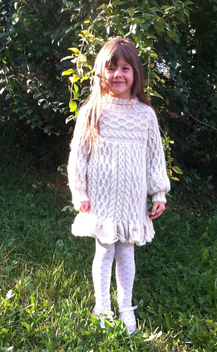 Anamchara - opulent Cable Jumper / Sweater or Dress