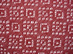 diamond triangular shawl - 2