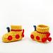 Yellow Submarine Baby Boots pattern