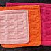 Garter Blocks Dishcloth pattern