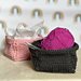 Knitted Gift Basket pattern