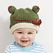 Baby Animal 'Froggy' Hat pattern