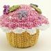Think Pink Cupcake pattern