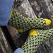Toukka Socks pattern