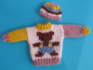 jumper and hat