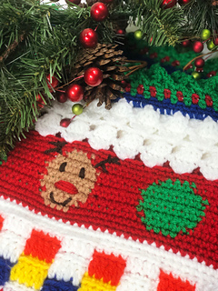 Ugly Christmas Sweater Pattern.Ugly Christmas Sweater Blanket Cal Pattern By Elizabeth Mareno