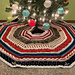 Songs of the Season Tree Skirt pattern
