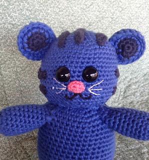 Daniel The Tiger Tigey Crochet Stuffed Animal Blue Amigurumi ... | 320x298