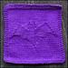 Batty Dishcloth pattern