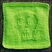Skully Dishcloth pattern