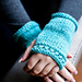 Absolute Beginner's Fingerless Mitts pattern