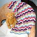 Cosine Ripple Baby Blanket pattern