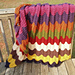 Feather and Fan Afghan pattern