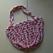 Mesh Market Bag 2 Handles Crochet Tutorial pattern