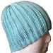Crochet Knit Look Hat pattern