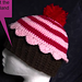 How to Crochet Preemie to Adult Size Cupcake Beanie   pattern