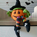 """Witches pumpkin - """"Hamm"""" pattern"""