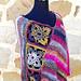 Boho Flower Poncho pattern