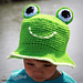 Frog Bucket Hat pattern