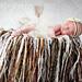 Fringe Blanket Photo Prop pattern