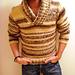 Men's BIG Shawl Collar Pullover pattern