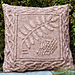 Celtic Rowan Pillow pattern