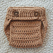 Newborn diaper cover pattern