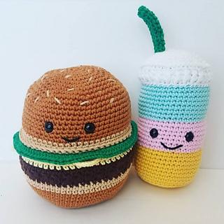 MILKSHAKE Crochet Amigurumi Pattern Crochet Food Tutorial | Etsy | 320x320