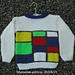Sweater Mondriaan pattern