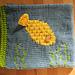 Ocean Textures Baby Book:  Fish & Sea Snake pattern