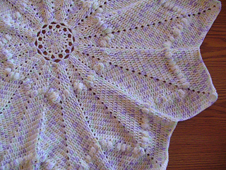 Around the rosy baby blanket