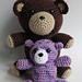 Stuffed teddy bear pattern